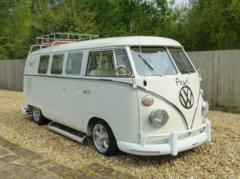 VW Wedding Camper Van Pearl
