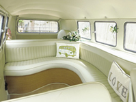 VW Wedding Camper Vans Pearl's Interior