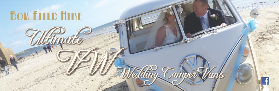 VW wedding camper vans
