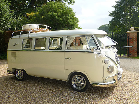 VW Wedding Camper Van WILMA
