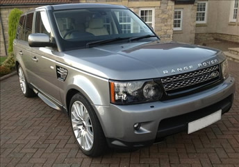 Range Rover Sport Wedding Car
